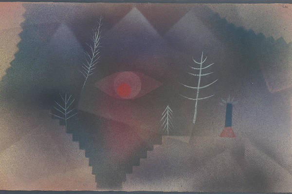 Painting - Glance Of A Landscape by Paul Klee