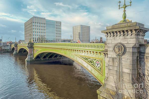 Wall Art - Photograph - Glasgow Albert Bridge by Antony McAulay