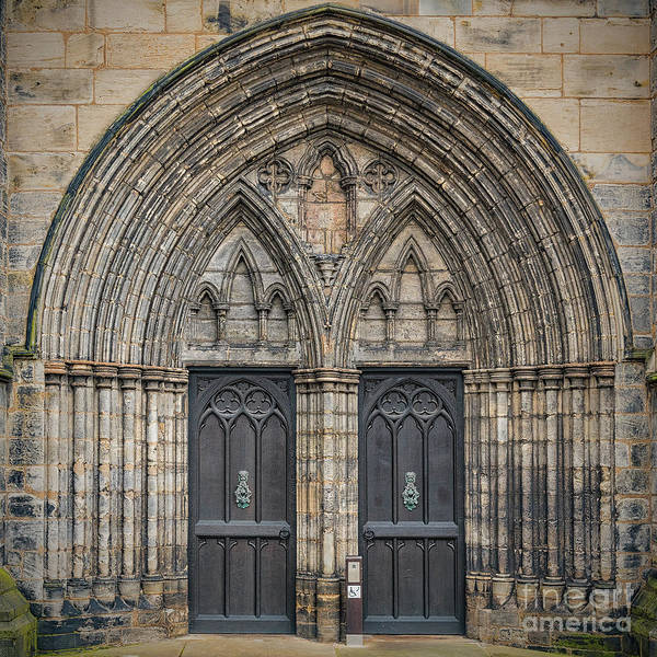 Millenium Photograph - Glasgow Cathedral Main Entrance by Antony McAulay
