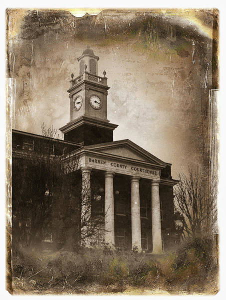 Wall Art - Photograph - Glasgow Ky Courthouse by Amber Flowers
