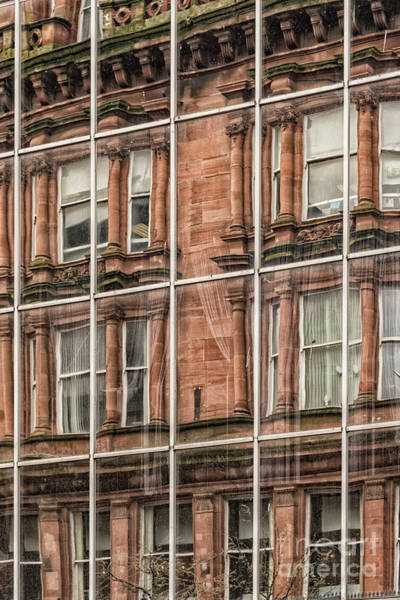 Tenement Photograph - Glasgow Modern Vintage by Antony McAulay