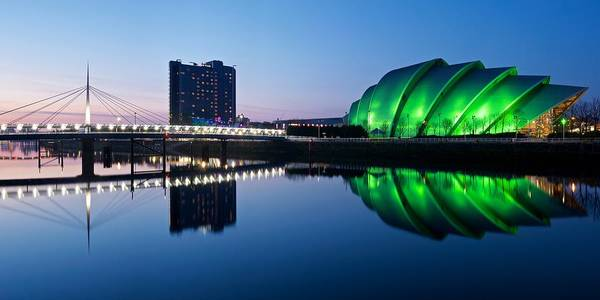 Photograph - Glasgow Riverside Reflections by Stephen Taylor