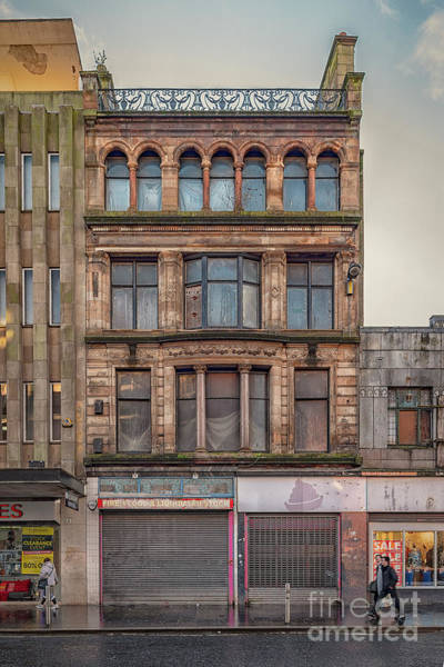 Wall Art - Photograph - Glasgow Street Facade by Antony McAulay
