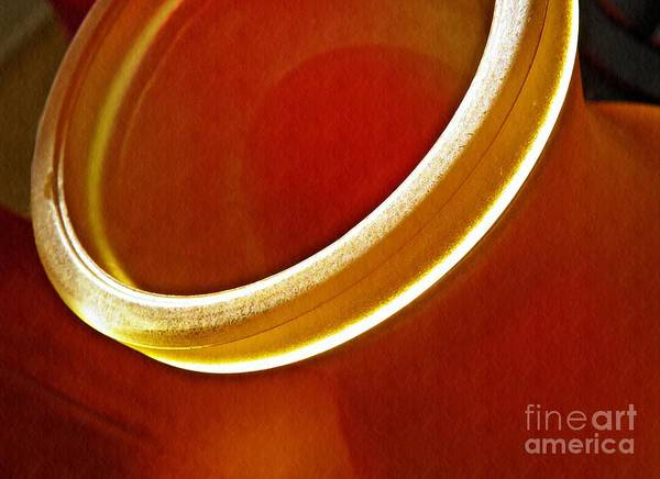 Frosted Glass Photograph - Glass Abstract 776 by Sarah Loft