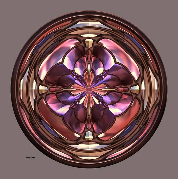 Photograph - Glass Button 2 by John M Bailey