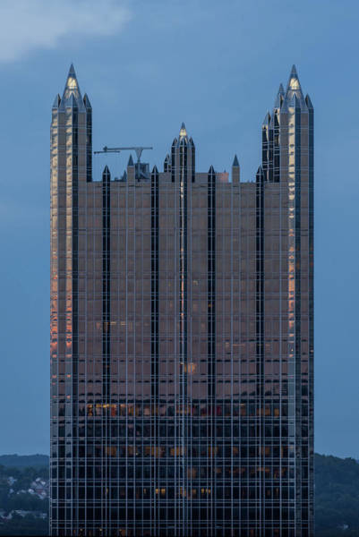 Photograph - Glass Castle Top Of Ppg Building Pittsburgh Pa by Terry DeLuco