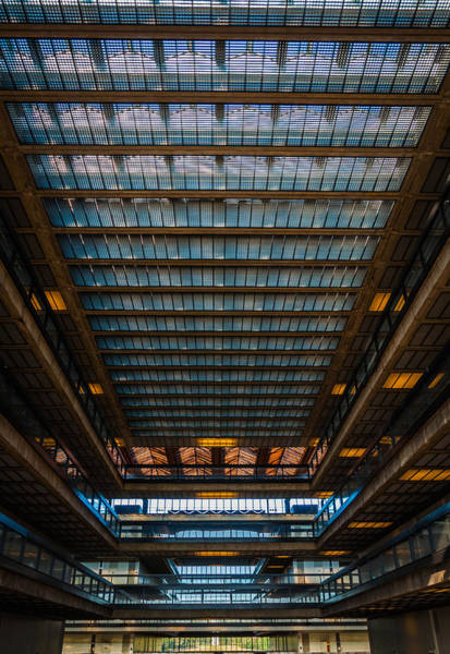 Lab Photograph - Glass Ceiling by Kristopher Schoenleber