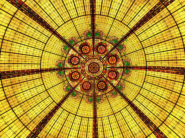 Wall Art - Photograph - Glass Ceiling Las Vegas by William Dey