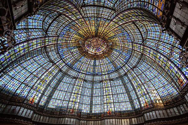 Wall Art - Photograph - Glass Ceiling - Paris, France by Melanie Alexandra Price