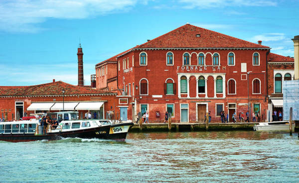 Photograph - Glass Factory In Murano, Italy by Fine Art Photography Prints By Eduardo Accorinti