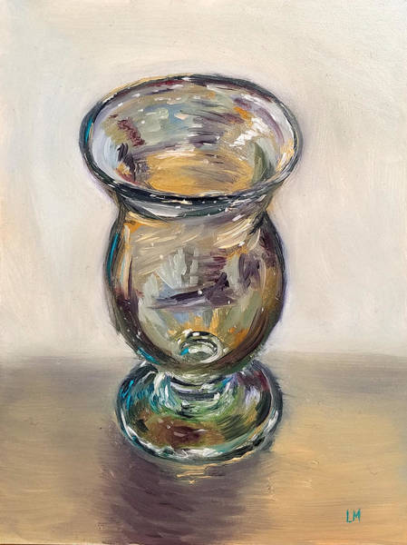 Painting - Glass Goblet by Linda Merchant
