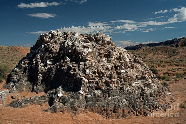 Photograph - Glass Mountain Capital Reef National Park by Cindy Murphy - NightVisions