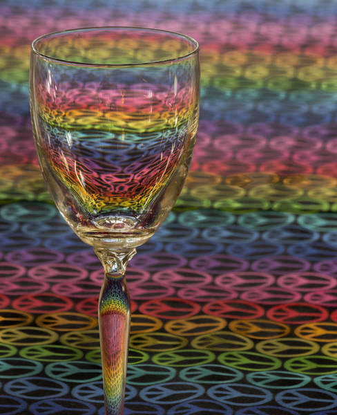 Photograph - Glass Of Colors by James Woody