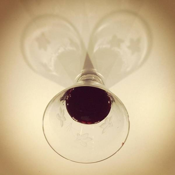 Wine Wall Art - Photograph - Glass Of Wine, #juansilvaphotos by Juan Silva