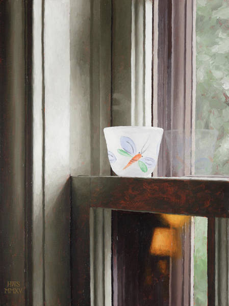 Painting - Glass On Sash by Harry Steen