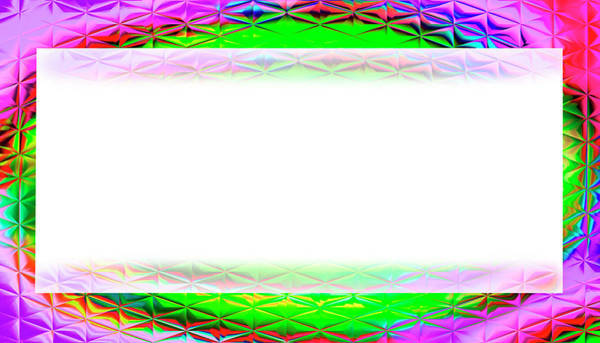 Digital Art - Glass Style  Card  by Susan Leggett