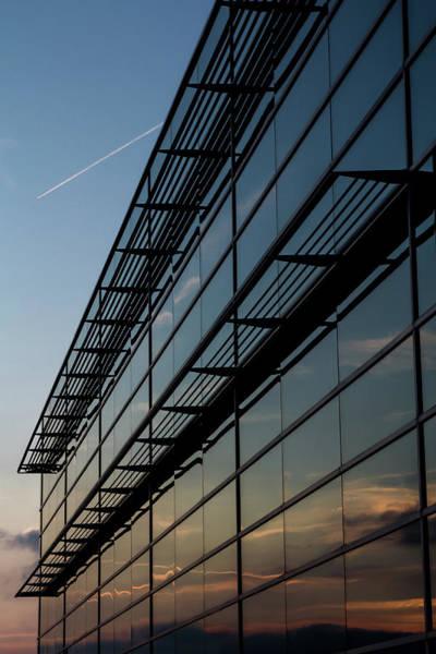 Wall Art - Photograph - Glass Sunset by Joshua Ball