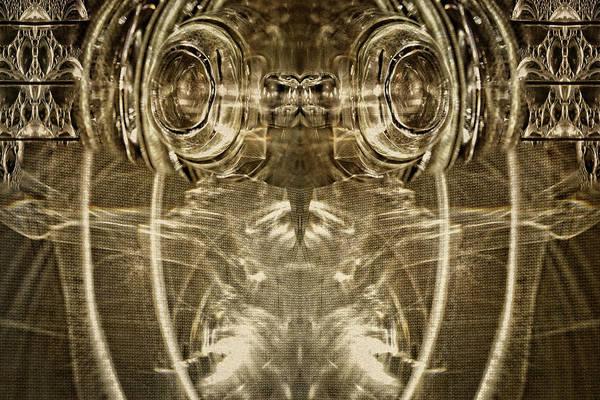 Digital Art - Glassy Eyes by Becky Titus