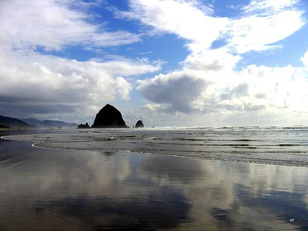 Photograph - Glassy Sands by Will Borden