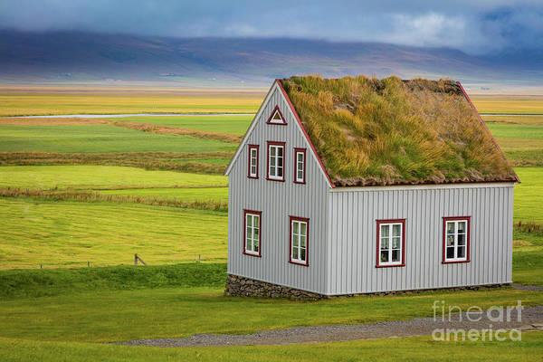 Photograph - Glaumbaer Farmhouse by Inge Johnsson