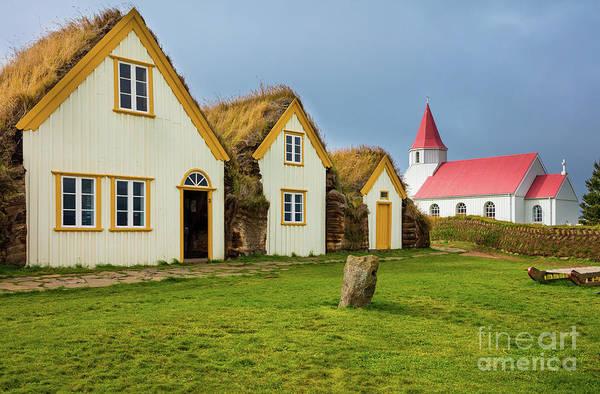 Photograph - Glaumbaer Village by Inge Johnsson
