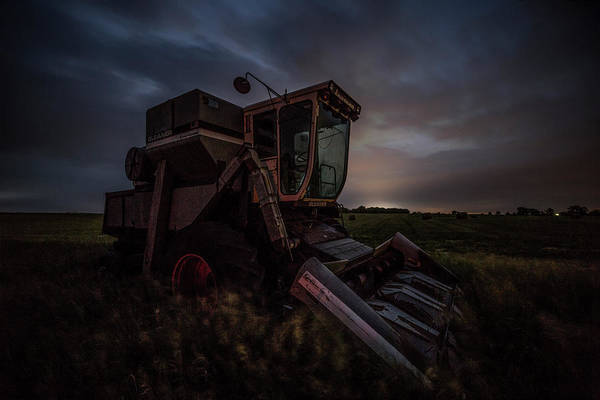 Wall Art - Photograph - Gleaner by Aaron J Groen