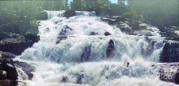 Photograph - Glen Alpine Falls 2 by Joe Lach