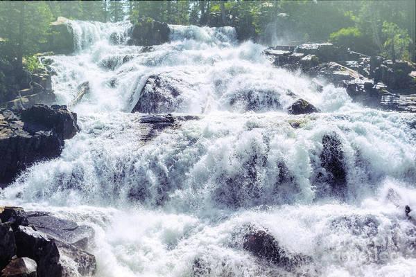Photograph - Glen Alpine Falls 3 by Joe Lach
