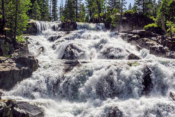 Photograph - Glen Alpine Falls 4 by Joe Lach