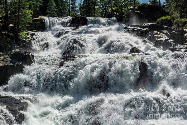 Photograph - Glen Alpine Falls 5 by Joe Lach
