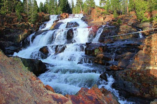 Photograph -   Glen Alpine Waterfall by Sean Sarsfield