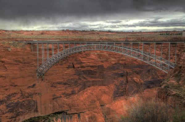 Wall Art - Photograph - Glen Canyon Bridge by Donna Kennedy