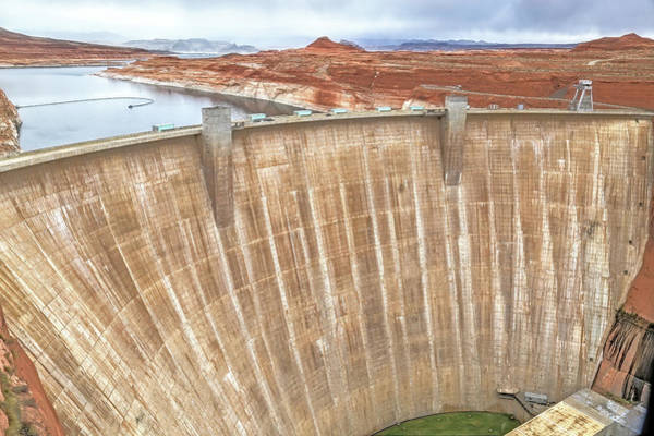 Wall Art - Photograph - Glen Canyon Dam by Donna Kennedy