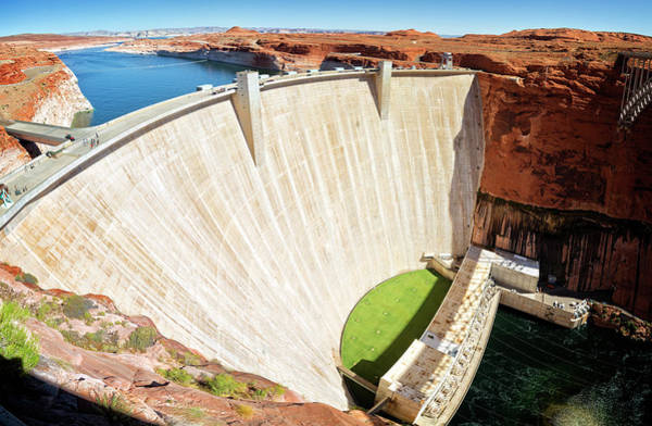 Wall Art - Photograph - Glen Canyon Dam by Ricky Barnard