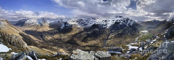 Bidean Nam Bian Photograph - Glencoe - Scotland by Rod McLean
