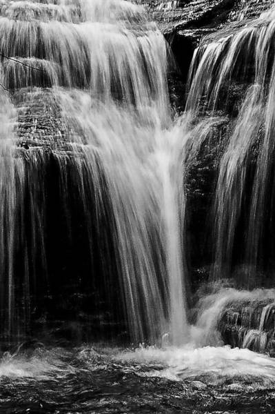 Catskills Photograph - Glen Falls by Louis Dallara