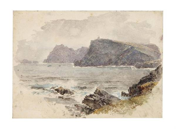 Donegal Painting - Glen Head by William Trost