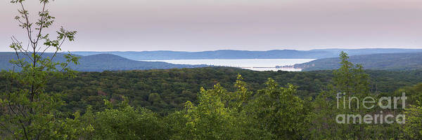 Sleeping Bear Dunes Wall Art - Photograph - Glen Lake Panorama From The Dunes by Twenty Two North Photography