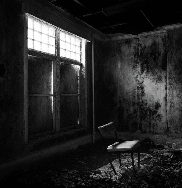 Photograph - Crooked Chair by Dave Bowman