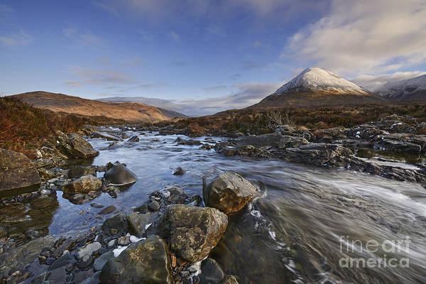 Skye Photograph - Glen Sligachan  by Rod McLean