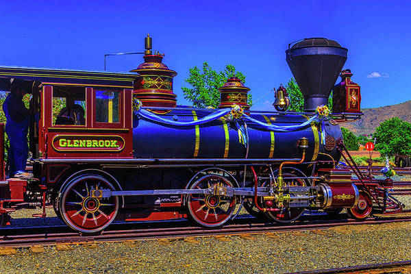 Gauge Photograph - Glenbrook Train Carson City by Garry Gay