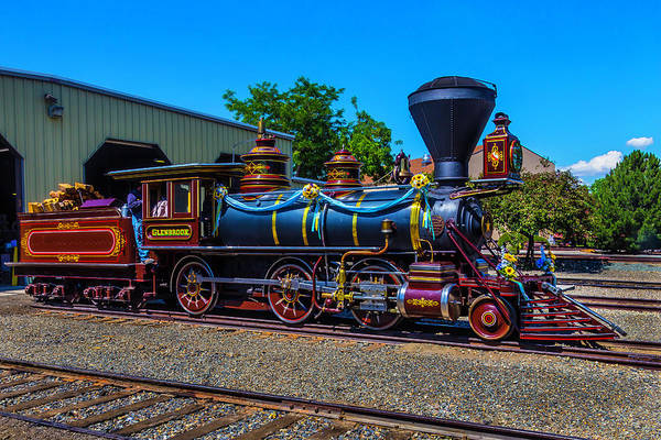 Gauge Photograph - Glenbrook Train by Garry Gay