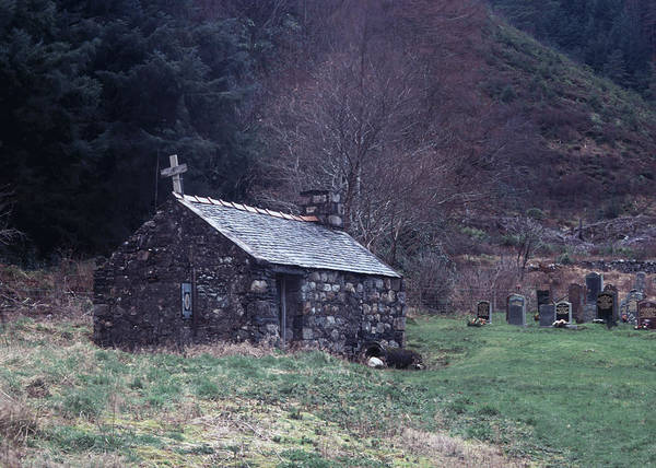 Photograph - Glencoe Chapel by Kenneth Campbell