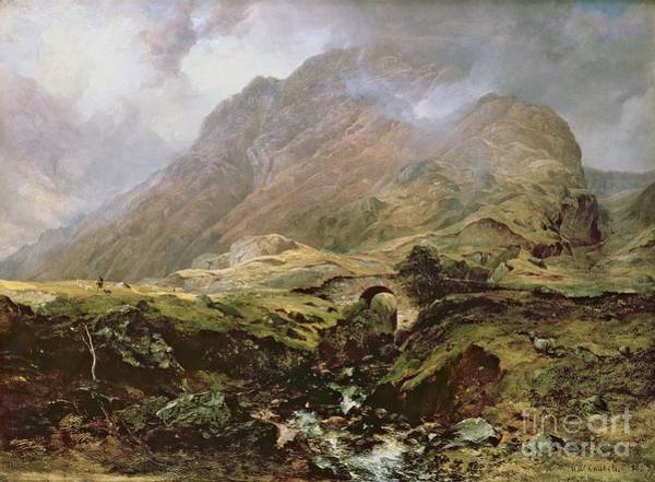 Scotch Wall Art - Painting - Glencoe by Horatio McCulloch
