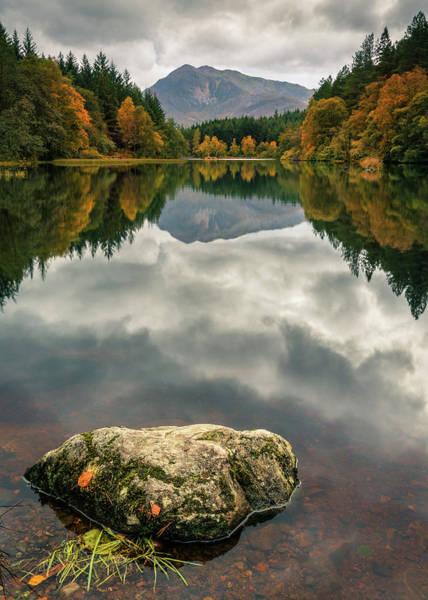 Photograph - Glencoe Lochan by Dave Bowman