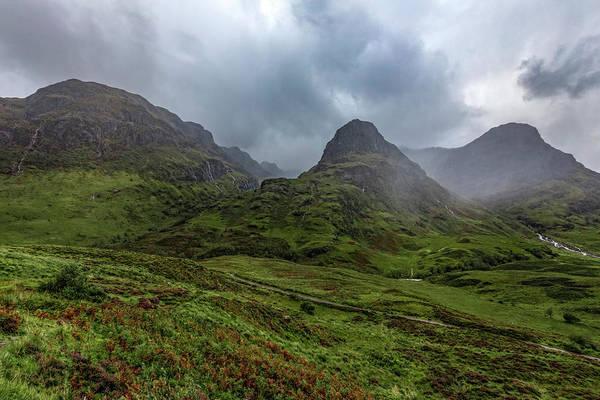 Bidean Nam Bian Photograph - Glencoe - Scotland by Joana Kruse