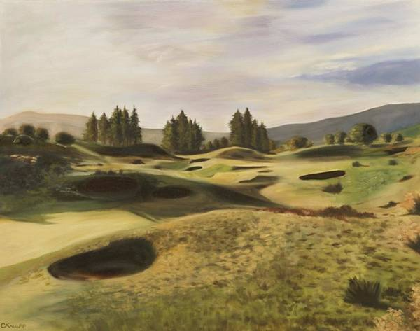 Gleneagles Kings Course Art Print