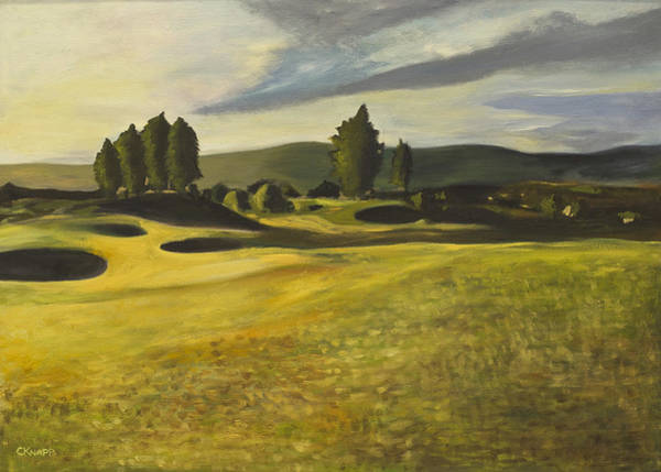 Gleneagles Queens Course Art Print