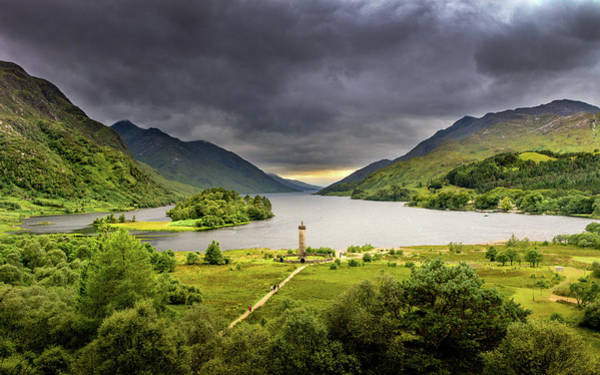 Photograph - Glenfinnan Monument by Framing Places