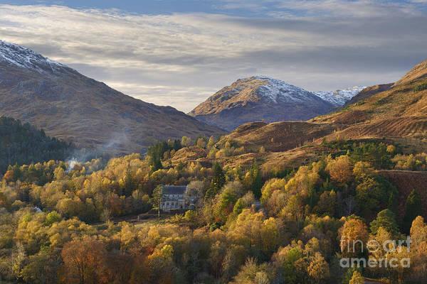 Highland Light Photograph - Glenfinnan by Rod McLean